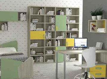 Итальянский книжный шкаф фабрики HAPPY (Композиция 571)