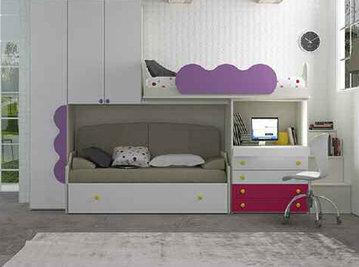 Итальянская детская спальня фабрики HAPPY (Композиция 572)