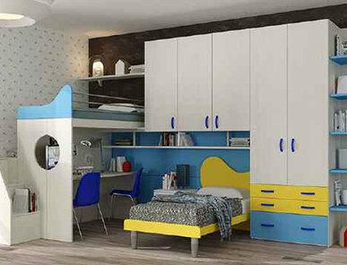 Итальянская детская спальня фабрики HAPPY (Композиция 573)