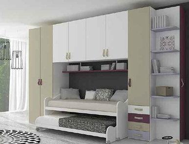 Итальянская детская спальня фабрики HAPPY (Композиция 578)