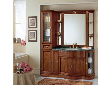 Итальянская мебель для ванной COMP. N. 11 IL BORGO фабрики EURODESIGN