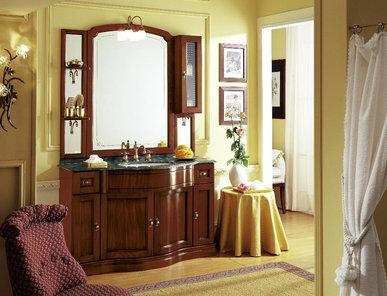 Итальянская мебель для ванной COMP. N. 12 IL BORGO фабрики EURODESIGN