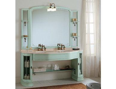 Итальянская мебель для ванной COMP. N. 15 IL BORGO фабрики EURODESIGN