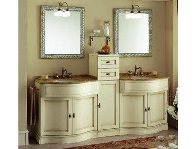 Итальянская мебель для ванной COMP. N. 17 IL BORGO фабрики EURODESIGN