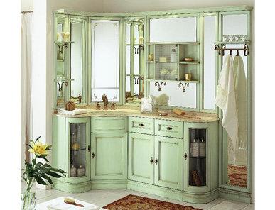 Итальянская мебель для ванной COMP. N. 18 IL BORGO фабрики EURODESIGN