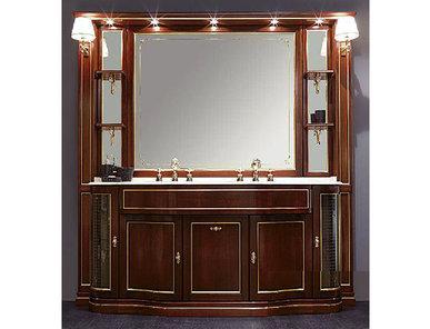 Итальянская мебель для ванной COMP. N. 32 IL BORGO фабрики EURODESIGN