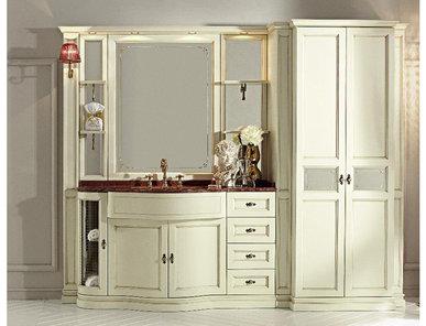 Итальянская мебель для ванной COMP. N. 36 IL BORGO фабрики EURODESIGN