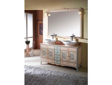 Итальянская мебель для ванной 9191 DORA фабрики TIFERNO