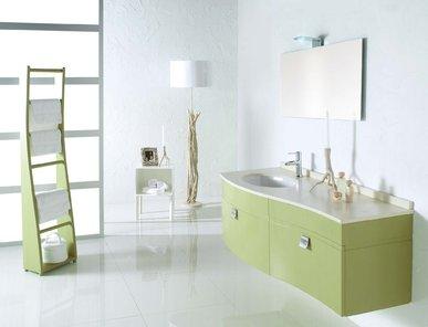 Итальянская мебель для ванной 12070 ONDA фабрики TIFERNO