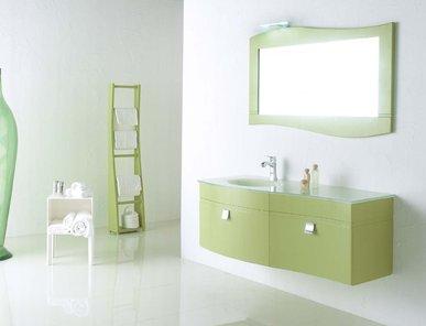Итальянская мебель для ванной 12075 ONDA фабрики TIFERNO