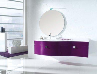 Итальянская мебель для ванной 12080 ONDA фабрики TIFERNO