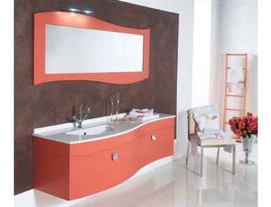 Итальянская мебель для ванной 12088 ONDA фабрики TIFERNO