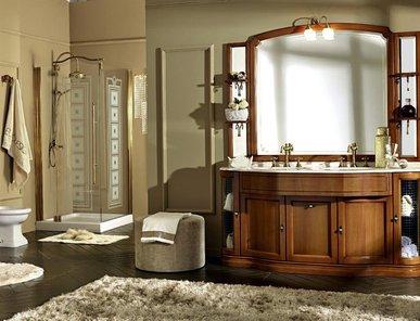Итальянская мебель для ванной COMP. N. 41 IL BORGO фабрики EURODESIGN