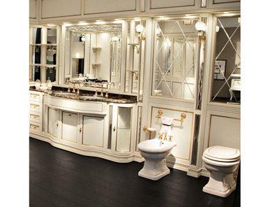 Итальянская мебель для ванной COMP. N. 44-15C IL BORGO PREMIUM фабрики EURODESIGN