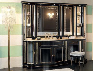 Итальянская мебель для ванной COMP. N. 55-14 IL BORGO PREMIUM фабрики EURODESIGN