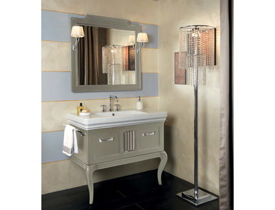 Итальянская мебель для ванной COMP. N.3 BRIDGE фабрики EURODESIGN