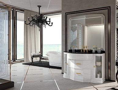 Итальянская мебель для ванной COMP. N.104 HERMITAGE фабрики EURODESIGN