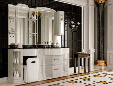 Итальянская мебель для ванной COMP. N.105 HERMITAGE фабрики EURODESIGN
