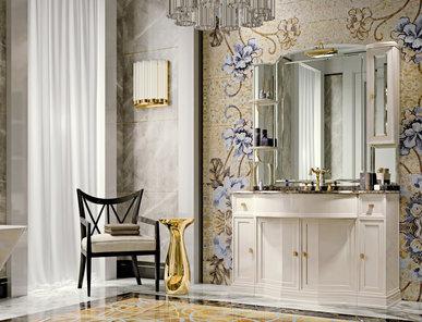 Итальянская мебель для ванной COMP. N.108 HERMITAGE фабрики EURODESIGN