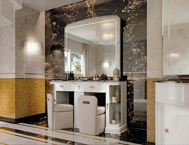 Итальянская мебель для ванной COMP. N.109-B HERMITAGE фабрики EURODESIGN