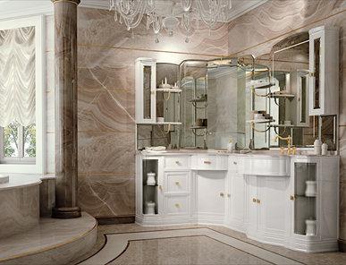Итальянская мебель для ванной COMP. N.111 HERMITAGE фабрики EURODESIGN