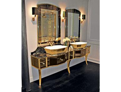 Итальянская мебель для ванной COMP. N.8 FLY фабрики EURODESIGN