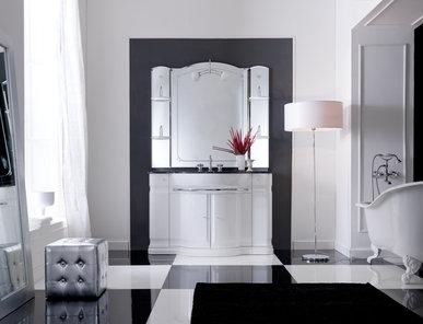 Итальянская мебель для ванной COMP. N.1 HILTON фабрики EURODESIGN