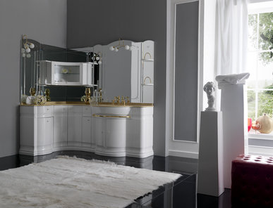 Итальянская мебель для ванной COMP. N.3 HILTON фабрики EURODESIGN
