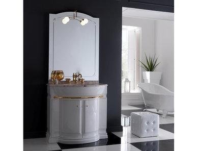 Итальянская мебель для ванной COMP. N.5 HILTON фабрики EURODESIGN
