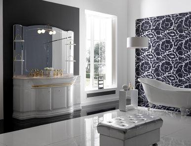 Итальянская мебель для ванной COMP. N.6 HILTON фабрики EURODESIGN