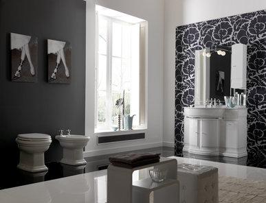 Итальянская мебель для ванной COMP. N.8 HILTON фабрики EURODESIGN