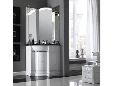 Итальянская мебель для ванной COMP. N.9 HILTON фабрики EURODESIGN