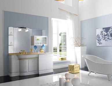 Итальянская мебель для ванной COMP. N.10 HILTON фабрики EURODESIGN