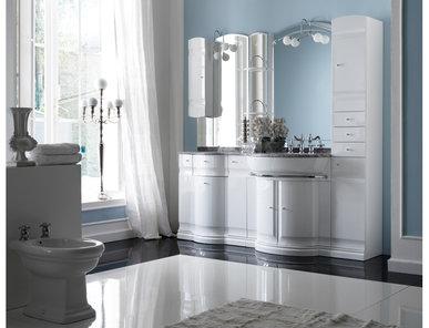 Итальянская мебель для ванной COMP. N.11 HILTON фабрики EURODESIGN