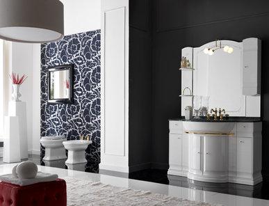 Итальянская мебель для ванной COMP. N.12 HILTON фабрики EURODESIGN