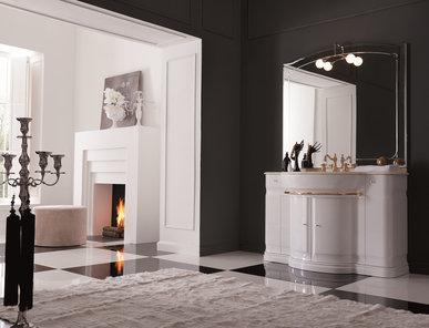 Итальянская мебель для ванной COMP. N.13 HILTON фабрики EURODESIGN