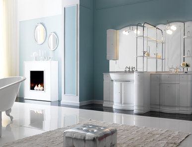 Итальянская мебель для ванной COMP. N.14 HILTON фабрики EURODESIGN