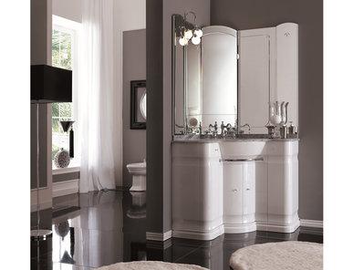 Итальянская мебель для ванной COMP. N.15 HILTON фабрики EURODESIGN