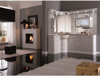 Итальянская мебель для ванной COMP. N.15 LUXURY фабрики EURODESIGN