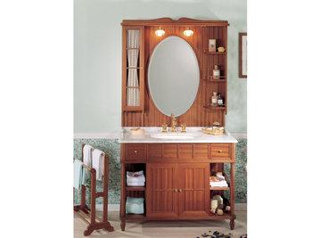 Итальянская мебель для ванной COMP. N.1 GREEN & ROSES фабрики EURODESIGN