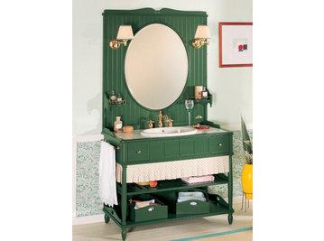 Итальянская мебель для ванной COMP. N.2 GREEN & ROSES фабрики EURODESIGN