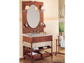 Итальянская мебель для ванной COMP. N.5 GREEN & ROSES фабрики EURODESIGN