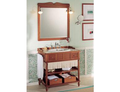 Итальянская мебель для ванной COMP. N.6 GREEN & ROSES фабрики EURODESIGN