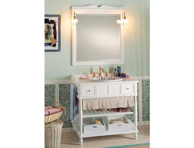 Итальянская мебель для ванной COMP. N.7 GREEN & ROSES фабрики EURODESIGN