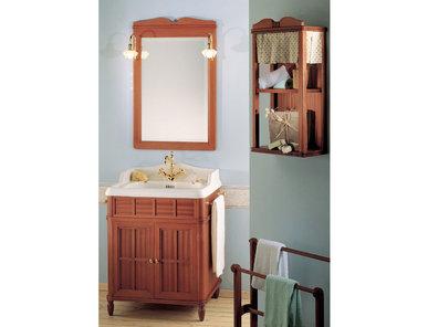 Итальянская мебель для ванной COMP. N.9 GREEN & ROSES фабрики EURODESIGN
