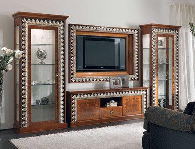 Итальянская мебель для ТВ 2508 фабрики CEPPI