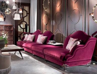 Итальянская мягкая мебель Gaspare фабрики ELLEDUE