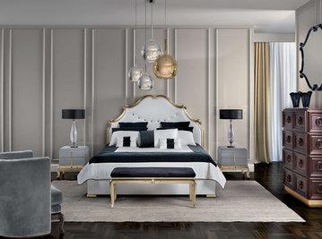 Итальянская кровать Thais B411 фабрики ELLEDUE