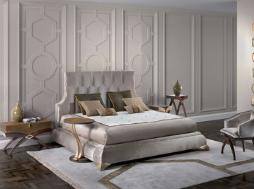 Итальянская кровать Gaspare фабрики ELLEDUE