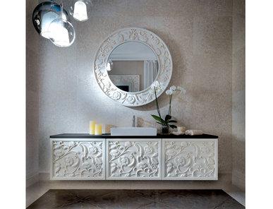 Итальянская мебель для ванных Saraya AB 608/FG фабрики ELLEDUE